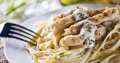 Saginaw Buffet Menu Fettucine Noodles and Chicken