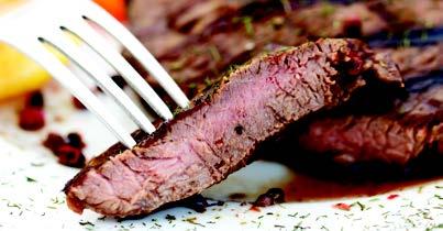 Golden Glow Buffet Menu Steak