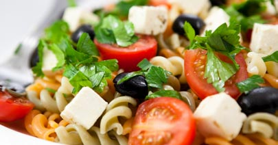 Pasta Salad Catering Dish